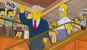Los Simpson se lamentan de su predicción más funesta: la llegada de Trump a la Casa Blanca
