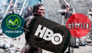 Netflix, HBO y Movistar+ están librando una batalla por el mejor catálogo en España