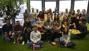 Hello Media Group se suma un año más a la Operación Kilo del Banco de Alimentos de Madrid