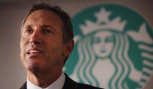 Howard Schultz abandona su puesto como CEO de Starbucks