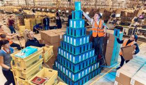Amazon anota la mejor cifra estas Navidades: mil millones de envíos
