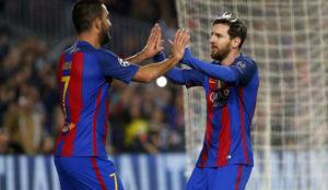 El 4-0 del Barcelona y el Mönchengladbach coloca en la cima a Antena 3 el puente de diciembre