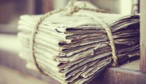 Por qué los diarios deben invertir otra vez en el (moribundo) papel para sobrevivir