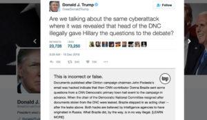 The Washington Post crea una extensión para detectar los tuits falsos de Donald Trump