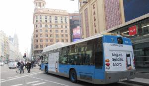 Exterion Media lanza el primer circuito nacional de buses en España, Big Cities, de la mano de Samsung