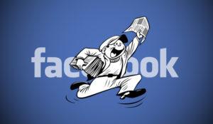 Facebook registró una patente para parar los pies a las
