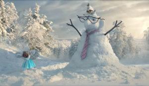 Dos simpáticos suricatos sustituyen a los protagonistas de Frozen en este invernal spot