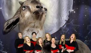 En esta singular campaña un coro canta villancicos mientras bala para empoderar a las cabras