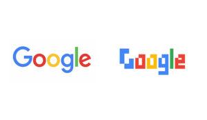 Los logos de 25 famosas marcas rediseñados en (antediluviano) estilo 8 bits