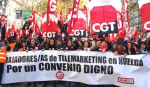 Precariedad e inestabilidad: la fotografía que refleja la situación del telemarketing