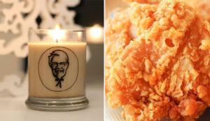 Es Navidad y KFC quiere embriagar su nariz con una fragante vela con aroma a pollo frito