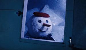 Un muñeco de nieve se embarca en un viaje de más de 4.000 kilómetros en este