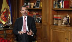 Menos audiencia televisiva pero más menciones en redes sociales para Felipe VI