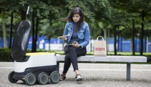 Los robots de reparto comienzan a colonizar Europa