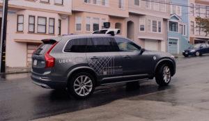 California da el alto a los coches autónomos de Uber en San Francisco