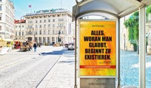 En la ciudad de Viena la publicidad exterior es (sabrosísimo) alimento para el cerebro
