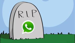 Si tiene uno de estos móviles, puede ir despidiéndose de WhatsApp