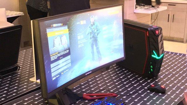 CES 2017 Gadgets/ Acer