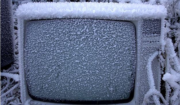 television-congelada