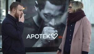 Este anuncio sufre ataques de tos cuando algún fumador osa acercarse a él