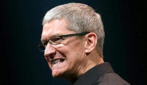 Apple redujo el sueldo de los altos cargos un 14% el pasado 2016
