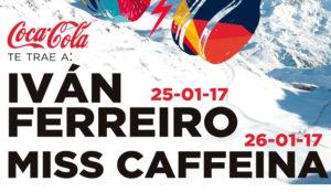 Iván Ferreiro y Miss Caffeína actuarán en el festival +QSKI