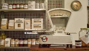 Abre El Kolmado con productos de primera necesidad