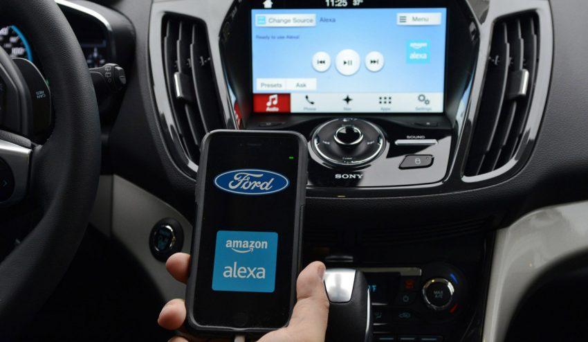 Ford despide a los GPS de sus vehículos para dar la bienvenida a Alexa