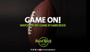 Viva la Super Bowl desde los Hard Rock Cafes de España