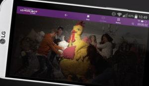 LG lanza un robot aspirador con videovigilancia y Kitchen monta una fiesta