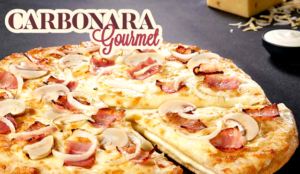 Telepizza la pizza más cremosa de su historia, la Carbonara Gourmet