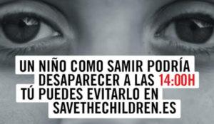 Save the Children conciencia sobre la desaparición de niños refugiados con