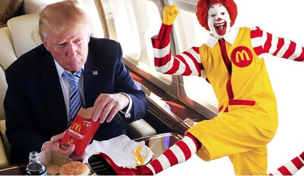 Hackean la cuenta de Twitter de McDonald's para reírse de Donald Trump