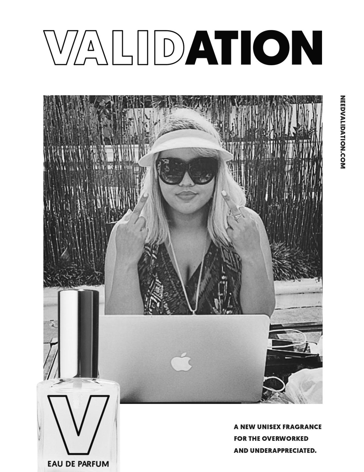 """""""Validation"""", la fragancia para los creativos que se sienten ninguneados en su trabajo"""