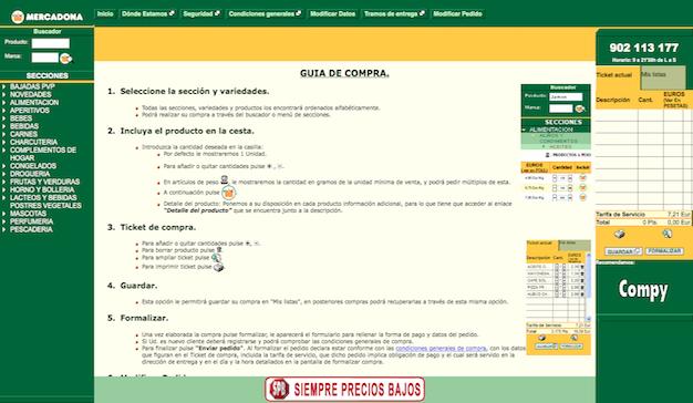 """La web de Mercadona """"es una mierda"""" según su propio presidente"""