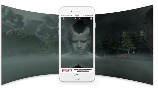 Junto a Mediacom y TAPTAP, Beefeater acerca la inmersión en vídeo a los usuarios móviles