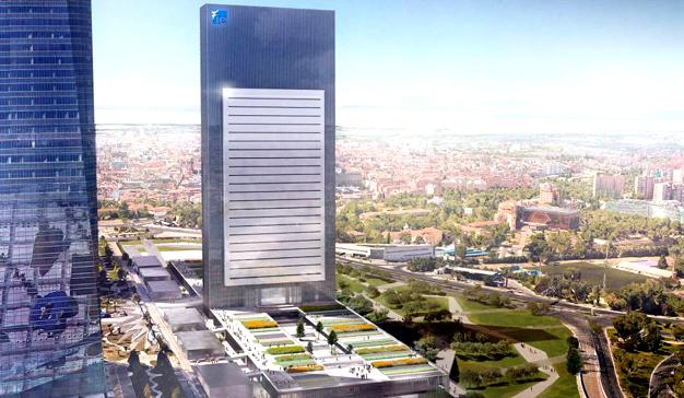 Llega Caleido, el innovador proyecto arquitectónico del skyline madrileño