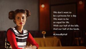 Benetton reafirma su compromiso con el empoderamiento de la mujer en su campaña #UnitedByHalf