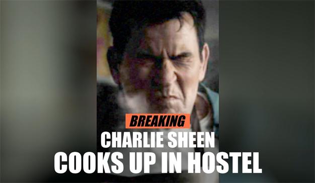 """Esta ingeniosa campaña inventa """"fake news"""" del chico malo de Hollywood: Charlie Sheen"""