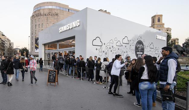 Cheil Spain crea una experiencia pionera con Samsung Pay en pleno centro de Barcelona