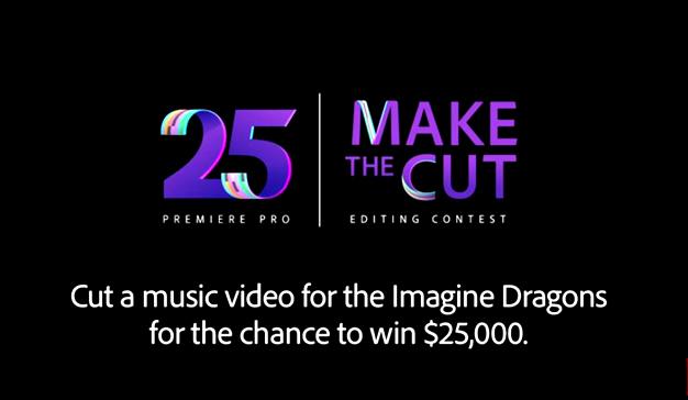 Adobe celebra el 25 aniversario de Premiere Pro con el concurso Make The Cut