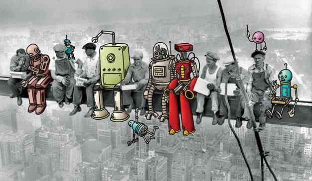 La digitalización o cómo dejar cruzado de brazos (y sin trabajo) a medio planeta