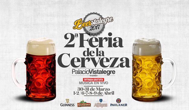 Vuelve a Madrid la gran fiesta de la Cerveza, Beerstalegre 2017