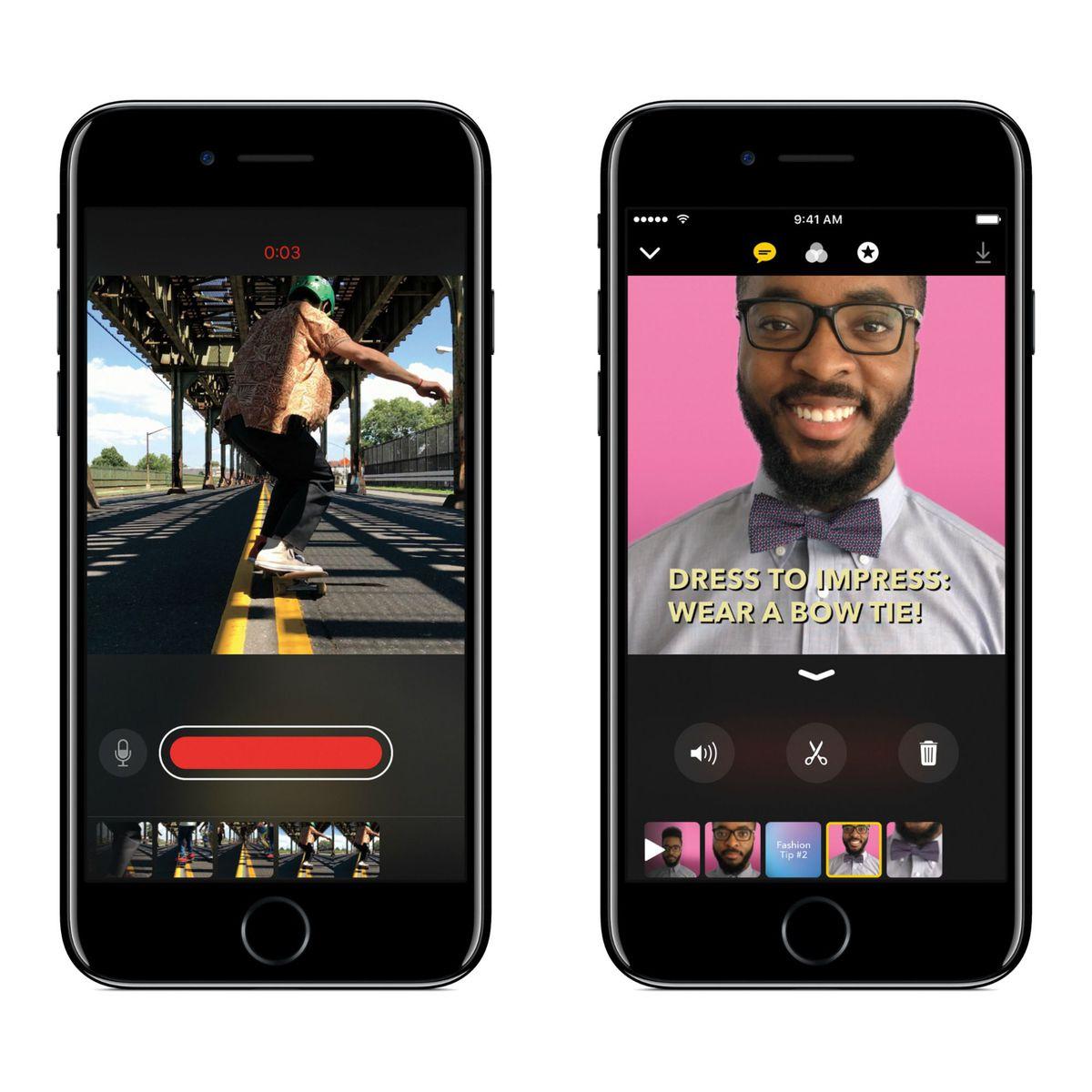 Apple desafía a sus rivales lanzando la app Clips, un híbrido entre iMovie y Snapchat