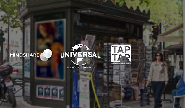 Mindshare y TAPTAP logran para Universal Pictures una nueva experiencia de Mobile Out-of-Home (MooH)