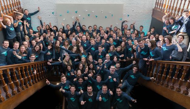 Teamleader, la historia de unos jóvenes que están revolucionando la agencia europea