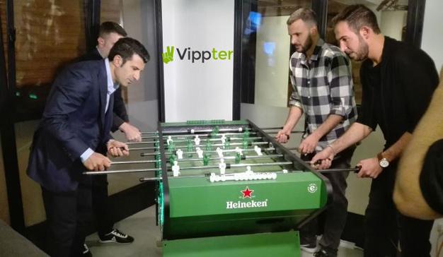 """Vippter conecta a Luis Figo y Heineken en la campaña """"Legendary Nights"""""""