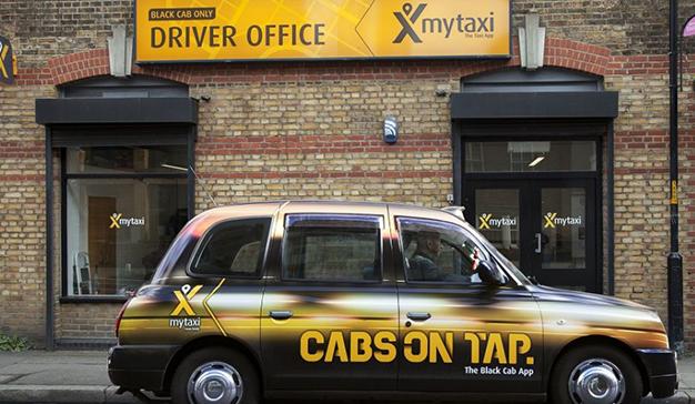 mytaxi aterriza en Londres e Irlanda