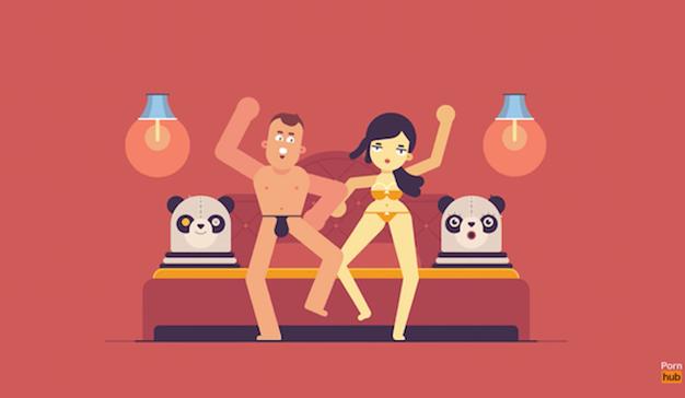 """Pornhub invita a los usuarios a tener sexo """"al estilo panda"""" por una buena causa"""