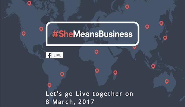 Facebook celebra el Día Internacional de la Mujer con un directo mundial de 24 horas